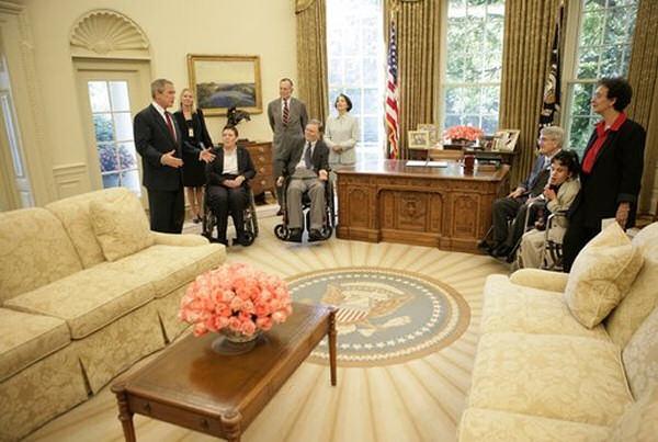 Bush Oval Office