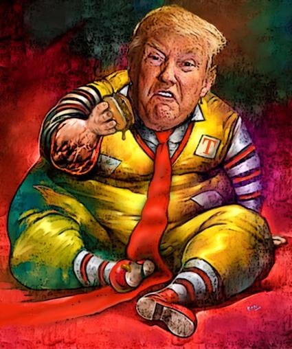 Donald's Shit Burger