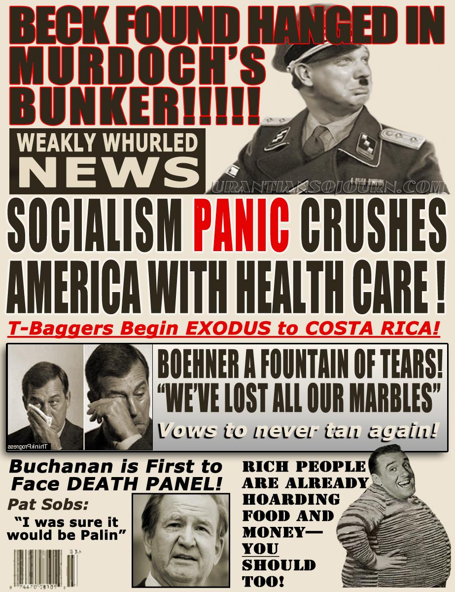 SOCIALISM CRUSHES AMERICA