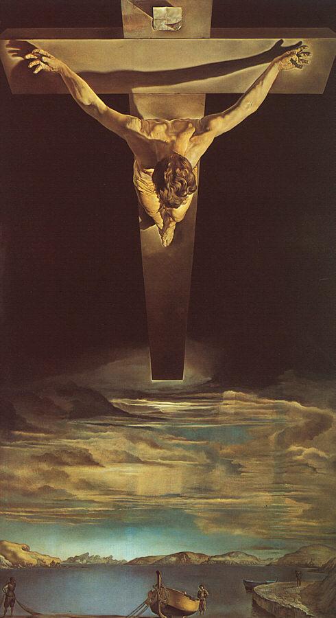 Dali Christ of St John of the Cross 1951