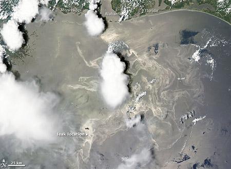 Oilmageddon Seen From Space