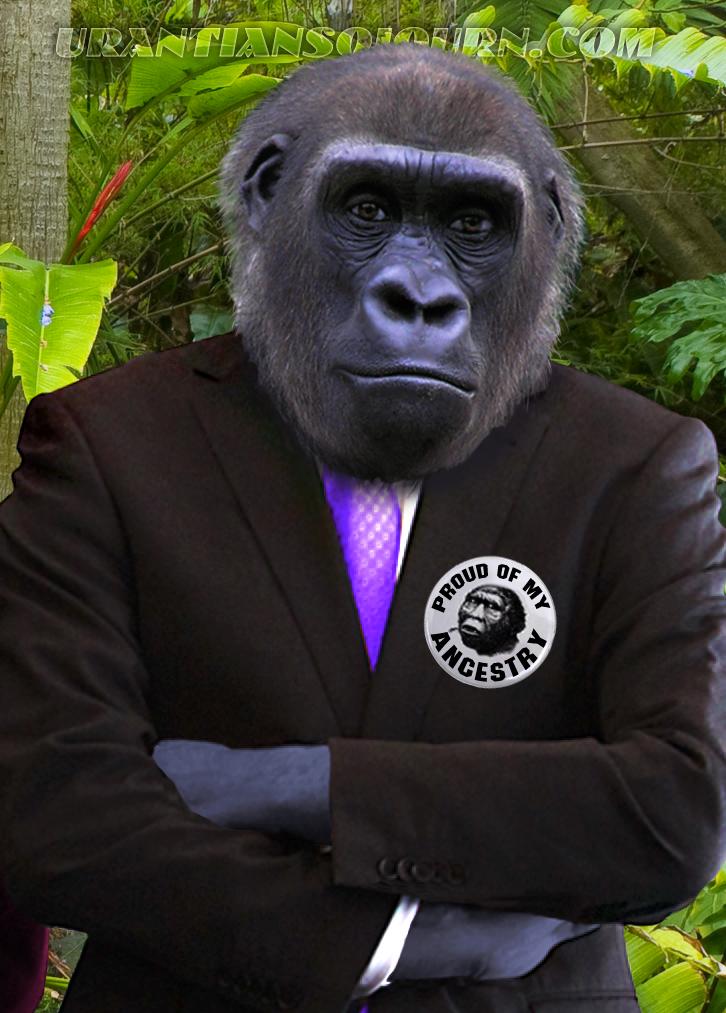 Evolution Myth Ape