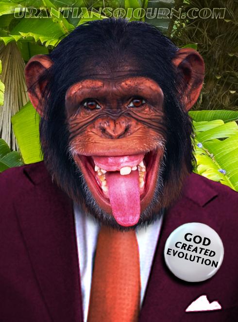 Evolution Myth Chimp