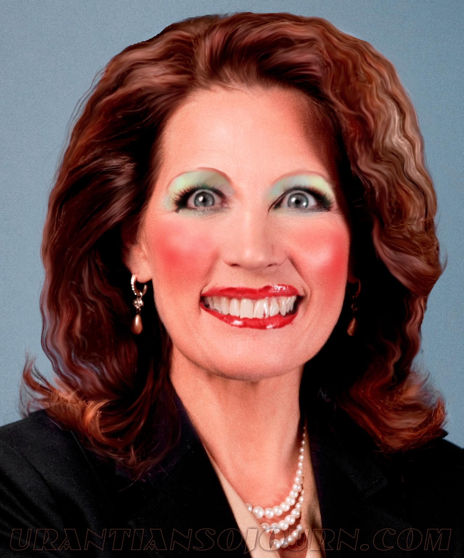 """Thank God: Michele """"Bat Shit Crazy"""" Bachmann is back"""