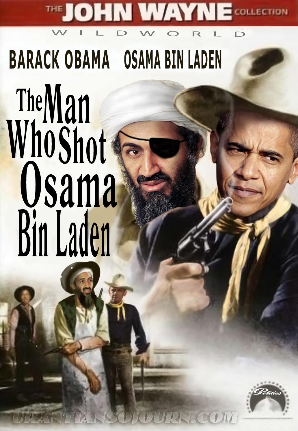 Obama Shot Osama