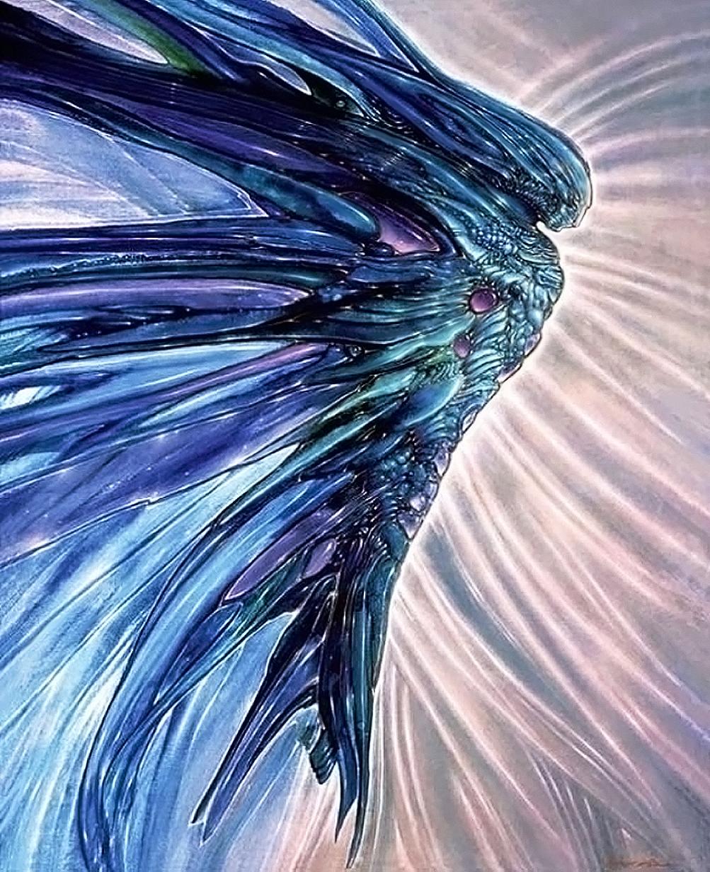 Angel Manifestation By Robert Venosa