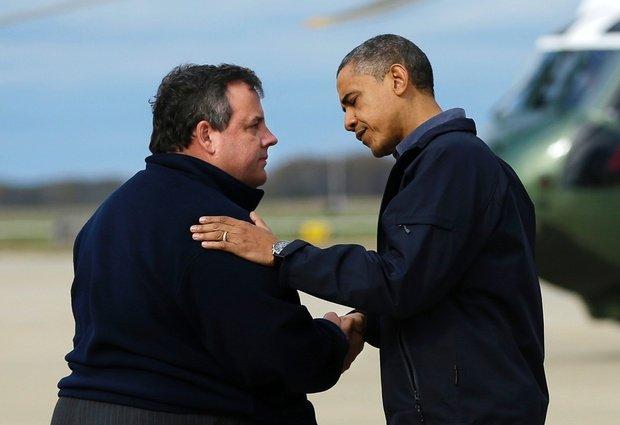 Christie hearts Obama