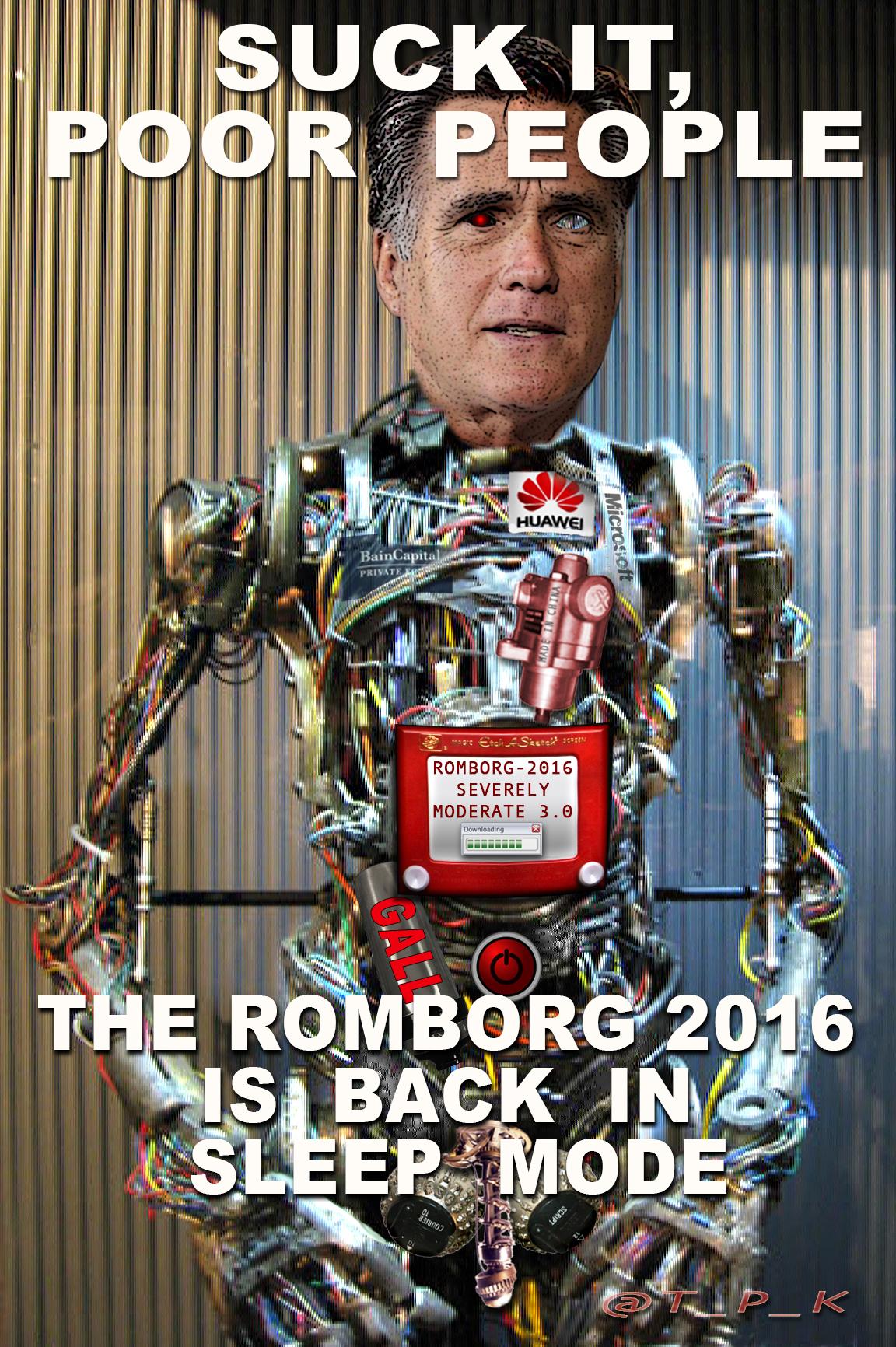 THE RomBorg 2016: Suck it, Poor People
