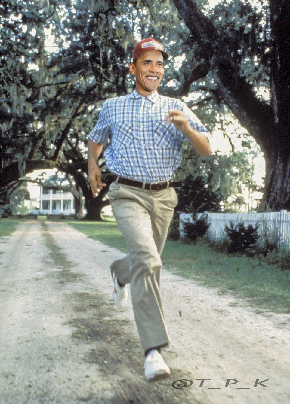 Run,  Barack!  Run!