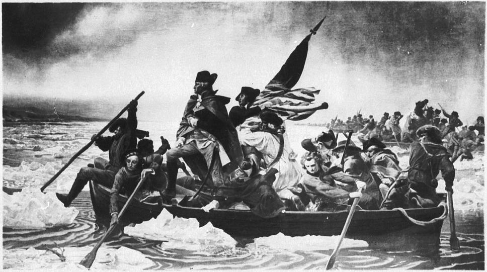 Übergang Washingtons über den Delaware