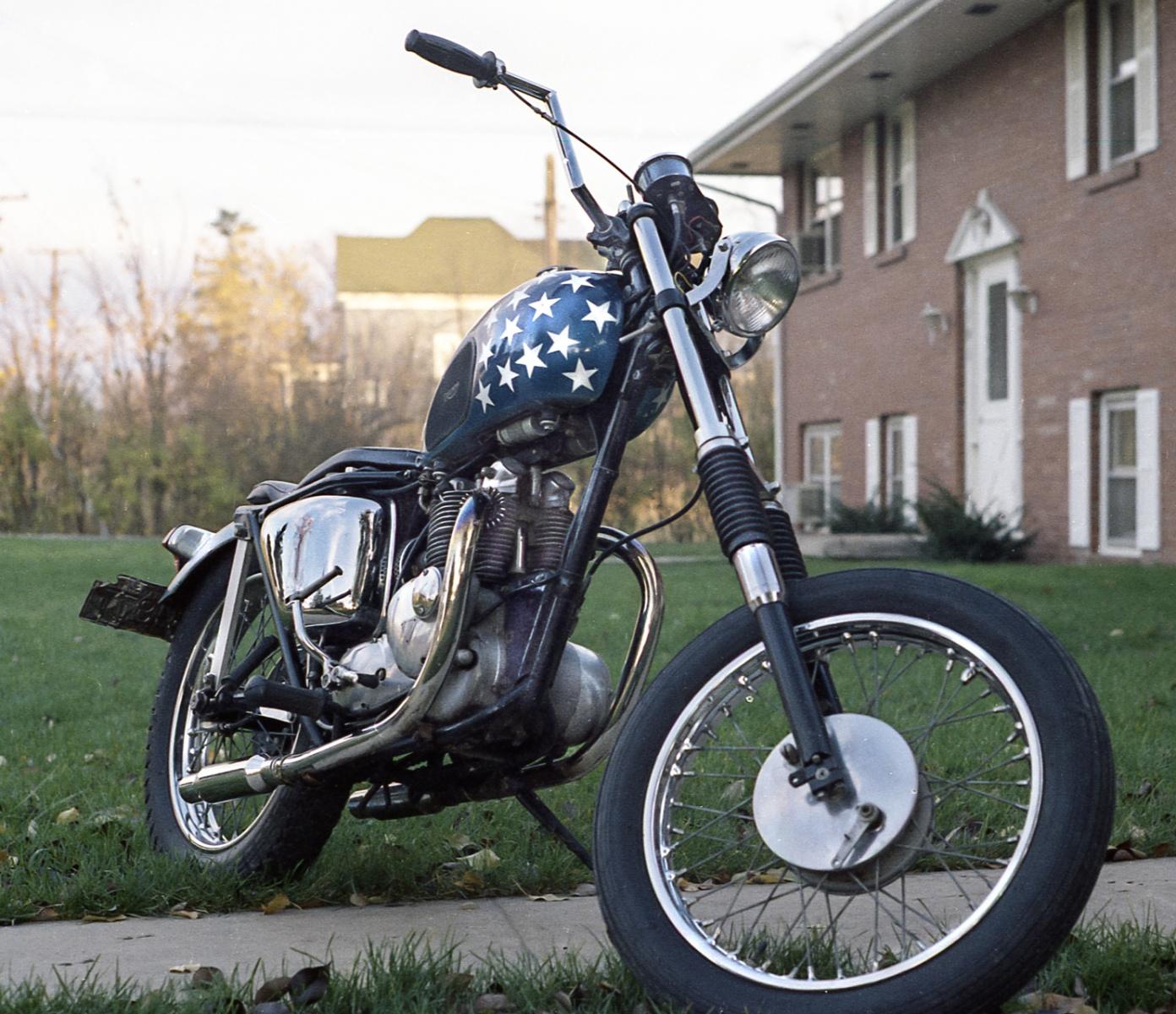 Easy Rider 500 cc Triump Twin