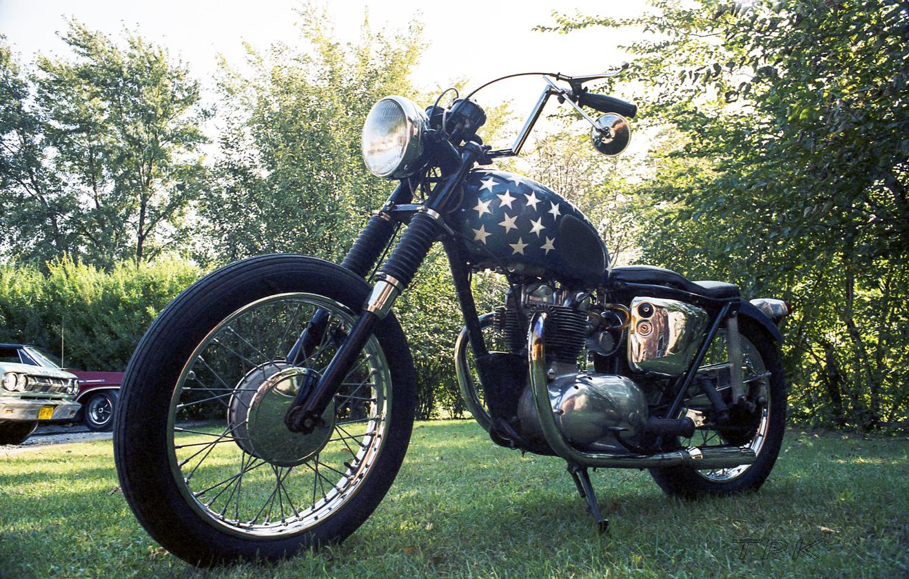Easy Rider 500 cc Triumph Twin
